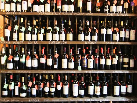 Large Wine Selections